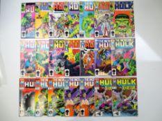 HULK - (21 in Lot) - (1985/87 - MARVEL) - Includes #311, 320, 321, 322, 323, 324, 325, 326, 327,