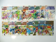 MARVEL UNIVERSE - (18 in Lot) - (1985/87 - MARVEL) - Includes #1, 2, 3, 4, 5, 6, 7, 8, 9, 10, 11,