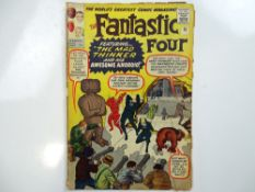 FANTASTIC FOUR #15 - (1963 - MARVEL - UK Price Variant) - First appearance of the Mad Thinker and
