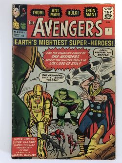 Marvel, DC & Independent Comic Books - LIVE WEBCAST ONLINE ONLY