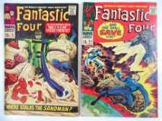 FANTASTIC FOUR #61 & 62 - (2 in Lot) - (1967 - MARVEL - UK Price Variant) - First appearance of