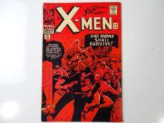 UNCANNY X-MEN #17 - (1966 - MARVEL - UK Price Variant) - Magneto appearance - Jack Kirby, Dick