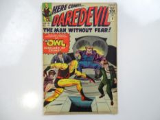 DAREDEVIL #3 - (1964 - MARVEL - UK Price Variant) - Origin and first appearance of the Owl - Jack