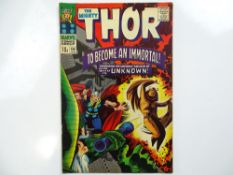 THOR #136 - (1967 - MARVEL - UK Price Variant) - Second appearance of Lady Sif - Jack Kirby cover