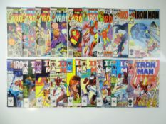 IRON MAN - (18 in Lot) - (1977/86 - MARVEL) - Includes #103, 105, 107, 108, 109, 126, 136, 196, 198,