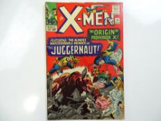 UNCANNY X-MEN #12 - (1965 - MARVEL - UK Price Variant) - Origin of Professor X + Origin and first