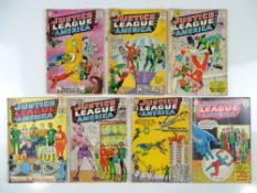 JUSTICE LEAGUE OF AMERICA #2, 4, 5, 8, 11, 13, 14 - (7 in Lot) - (1960/62 - DC - UK Cover Price) -