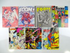 MARVEL'S FOOM MAGAZINE (7 in Lot) includes #7 (1974) + #11 (1975) + #18, 19 (1977) + #20, 21 (