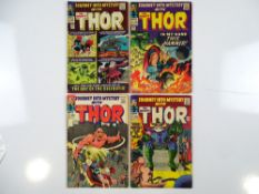 JOURNEY INTO MYSTERY: THOR #119, 120, 121, 122 - (4 in Lot) - (1965 - MARVEL - UK Price Variant) -