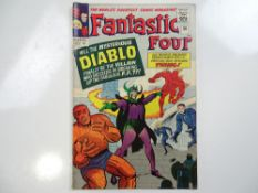 FANTASTIC FOUR #30 - (1964 - MARVEL - UK Price Variant) - First appearance of Diablo - Jack Kirby