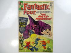FANTASTIC FOUR #21 - (1963 - MARVEL - UK Price Variant) - First appearance of the Hate-Monger + Nick