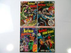BRAVE AND BOLD #80, 81, 82, 83 - (4 in Lot) - (1968/69 - DC - US Price & UK Cover Price) - Batman,