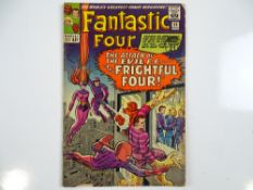 FANTASTIC FOUR #36 - (1965 - MARVEL - UK Cover Price) - First appearances of Medusa (Inhumans) and