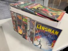 EXCALIBUR LUCKY DIP COMIC BOX - 275+ Comics from 1980's to Present - MARVEL + DC - Flat/Unfolded