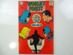 WORLD'S FINEST #176 - (1968 - DC - UK Cover Price) - Superman, Batman, Robin, Supergirl, Batgirl