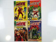 DAREDEVIL #27, 28, 29, 32 - (4 in Lot) - (1967 - MARVEL - UK Price Variant) - Run includes Spider-