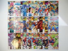 WEB OF SPIDER-MAN - (24 in Lot) - (1988/90 - MARVEL) - Includes #40, 42, 43, 44, 46, 48, 49, 54, 55,