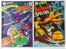 BRAVE AND BOLD #73 & 75 - (2 in Lot) - (1967/68 - DC - US Price & UK Cover Price) - Batman, Spectre,