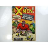 UNCANNY X-MEN #4 - (1964 - MARVEL - UK Price Variant) - Second appearance of Magneto and the FIRST