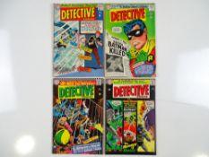 DETECTIVE COMICS: BATMAN #346, 347, 348, 350 (4 in Lot) - (1965/66 - DC - UK Cover Price) - Flat/