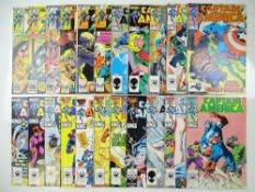 CAPTAIN AMERICA - (22 in Lot) - (1979/86 - MARVEL) - Includes #236, 237, 242, 244, 245, 247, 309,