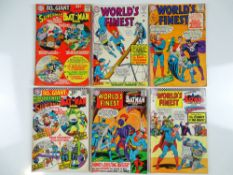 WORLD'S FINEST #154, 155, 161, 162, 163 & 80 PAGE GIANT-SIZE #15 - (6 in Lot) - (1965/66 - DC - UK