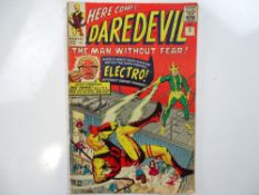 DAREDEVIL #2 - (1964 - MARVEL - UK Price Variant) - Second appearances of Daredevil and the super-