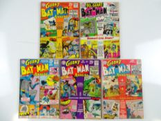 BATMAN: GIANT-SIZE ANNUALS #4, 5, 6, 7 & SILVER ANNIVERSARY #5 - (5 in Lot) - (1962/64 - DC - UK