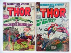 JOURNEY INTO MYSTERY: THOR #115 & 117 - (2 in Lot) - (1965 - MARVEL - UK Cover Price) - Absorbing
