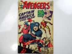 AVENGERS #4 - (1964 - MARVEL - UK Price Variant) - First Silver Age appearance of Captain America,
