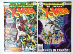 UNCANNY X-MEN #109 &120 (2 in Lot) - (1978/79 - MARVEL - UK Price Variant) - First appearances of
