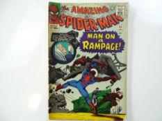AMAZING SPIDER-MAN #32 - (1966 - MARVEL - UK Price Variant) - Spidey vs. Doctor Octopus + Second
