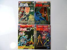 BRAVE AND BOLD #92, 93, 95, 96 - (4 in Lot) - (1970/71 - DC - UK Cover Price) - Batman, Bat-Squad,