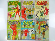FLASH #135, 136, 138, 140, 141, 142 - (6 in Lot) - (1963/64- DC - UK Cover Price) - Flat/