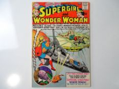 BRAVE AND BOLD #63 - (1965 - DC) - Supergirl and Wonder Woman + Superman appearance - Jim Mooney