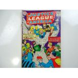 """JUSTICE LEAGUE OF AMERICA #21 - (1963 - DC - UK Cover Price) - """"Crisis on Earth-One"""" book re-"""