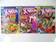 UNCANNY X-MEN #123, 127 &129 (3 in Lot) - (1979/80 - MARVEL - UK Price Variant) - First appearance