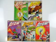 ATOM #3, 5, 6, 7, 8 (5 in Lot) - (1962/63 - DC - UK Cover Price) - Flat/Unfolded - a photographic