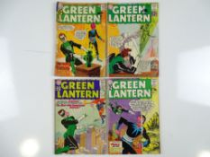 GREEN LANTERN #9, 12, 14, 15 - (4 in Lot) - (1961/62 - DC - UK Cover Price) - Flat/Unfolded - a