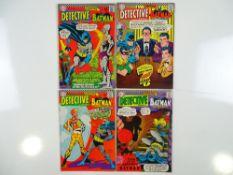 DETECTIVE COMICS: BATMAN #356, 357, 358, 360 (4 in Lot) - (1966/67 - DC - UK Cover Price) - Flat/