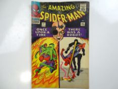 AMAZING SPIDER-MAN #37 - (1966 - MARVEL - UK Price Variant) - First appearances of Norman Osborn and