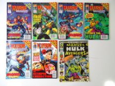 WOLVERINE LOT - (7 in Lot) - (MARVEL UK) - Includes MIGHTY WORLD OF MARVEL (1976) #199 (part 3 -