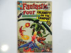 FANTASTIC FOUR #35 - (1965 - MARVEL - UK Cover Price) - First appearance of Dragon Man + Second