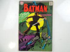BATMAN #189 - (1967 - DC) - First Silver Age appearance of the Scarecrow - Carmine Infantino cover
