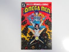 OMEGA MEN #3 - (1983 - DC) - First appearance of Lobo - Keith Giffen cover and interior art - Flat/