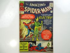 AMAZING SPIDER-MAN #9 - (1964 - MARVEL - UK Price Variant) - First appearance of Electro - Steve