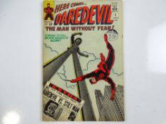 DAREDEVIL #8 - (1965 - MARVEL - UK Cover Price) - Origin and First appearance of the Stilt-Man -