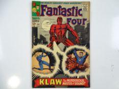 FANTASTIC FOUR #56 - (1966 - MARVEL) - Silver Surfer, Black Panther, Doctor Doom, Inhumans and