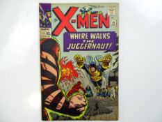 UNCANNY X-MEN #13 - (1965 - MARVEL UK Price Variant) - Second appearance of the Juggernaut + Human