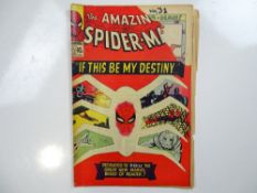 AMAZING SPIDER-MAN #31 - (1965 - MARVEL - UK Price Variant) - First appearances of Gwen Stacy, Harry